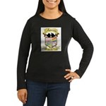 Clan Crest Women's Long Sleeve Dark T-Shirt