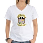 Clan Crest Women's V-Neck T-Shirt