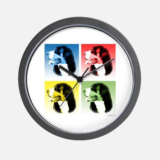 Swissy Pop Wall Clock