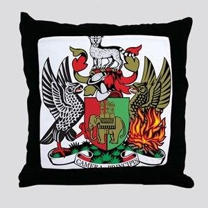 Coventry Coat of Arms Throw Pillow