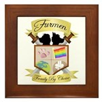 Clan Crest Framed Tile