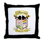 Clan Crest Throw Pillow