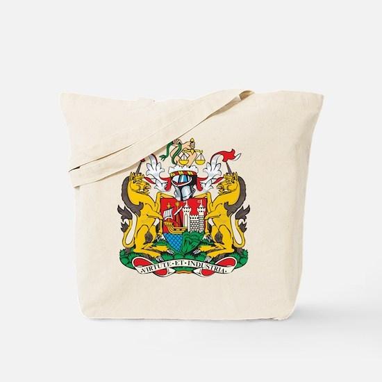 Bristol Coat of Arms Tote Bag