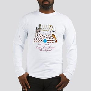 Classical Music-Be Inspired Long Sleeve T-Shirt