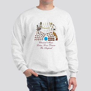 Classical Music-Be Inspired Sweatshirt