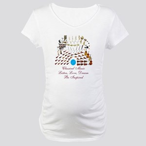 Classical Music-Be Inspired Maternity T-Shirt