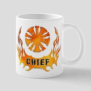 Fire Chiefs Flame Tattoo Mug