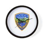 Seward Police Wall Clock