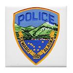 Seward Police Tile Coaster