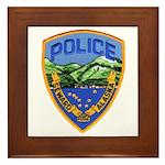 Seward Police Framed Tile