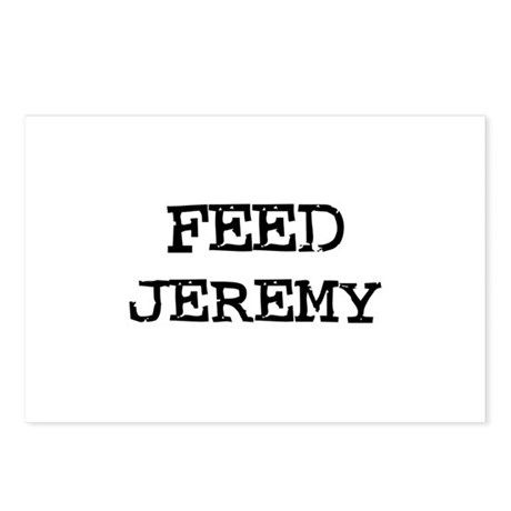 Feed Jeremy Postcards (Package of 8)