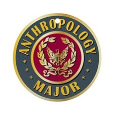 Anthropology Major College Course Ornament (Round)