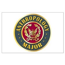 Anthropology Major College Course Large Poster