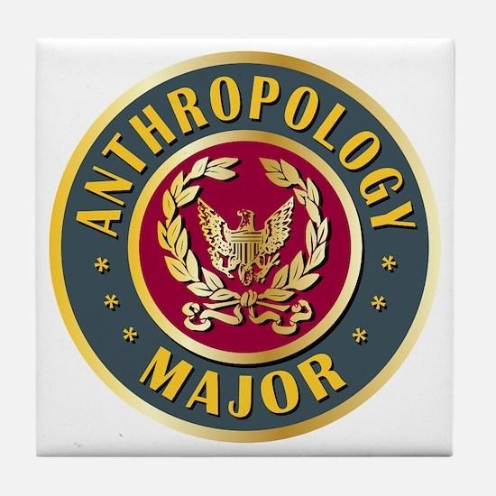 Anthropology Major College Course Tile Coaster