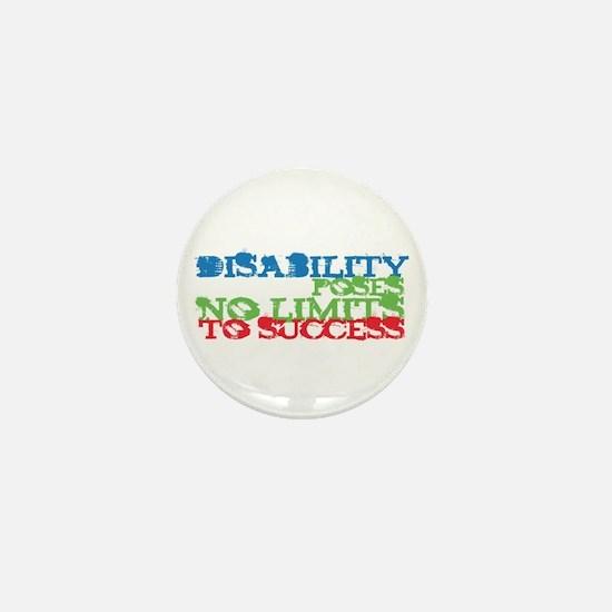 Disability No Limits Mini Button