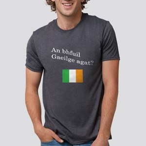 An Bhfuil Gaeilge Agat? Women's V-Neck T-Shirt