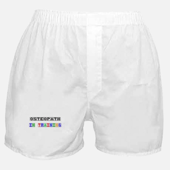 Osteopath In Training Boxer Shorts