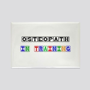 Osteopath In Training Rectangle Magnet