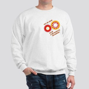 Red Get In Gear Sweatshirt