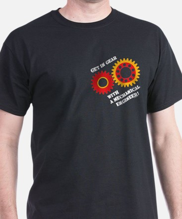 Red Get In Gear T-Shirt