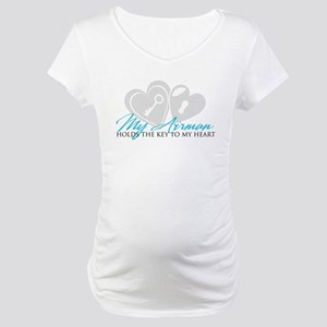 Key to my Heart Maternity T-Shirt