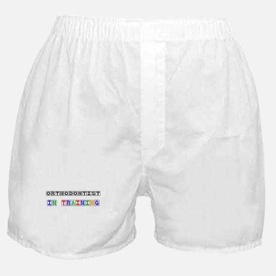Orthodontist In Training Boxer Shorts