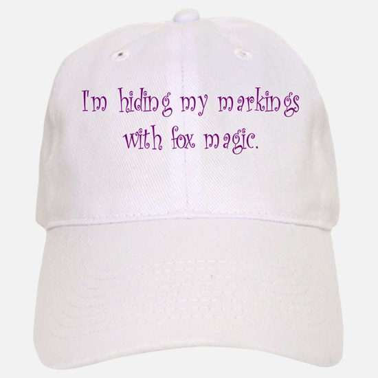 Markings Fox Magic Baseball Baseball Cap