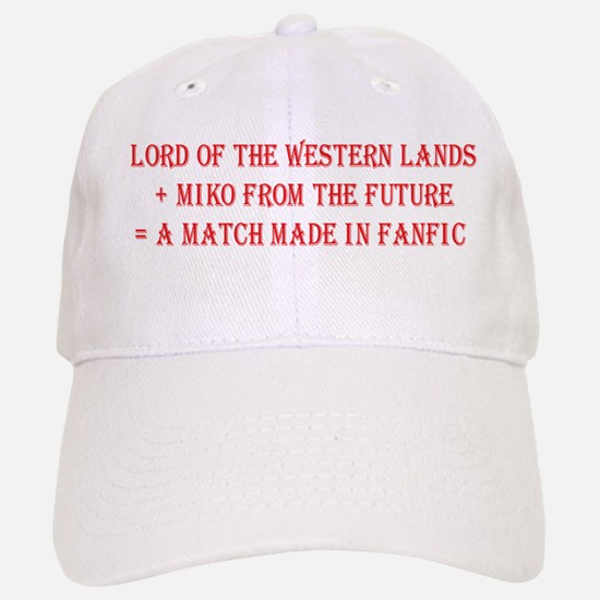 Lord Miko Match Made in Fanfic Baseball Baseball Cap