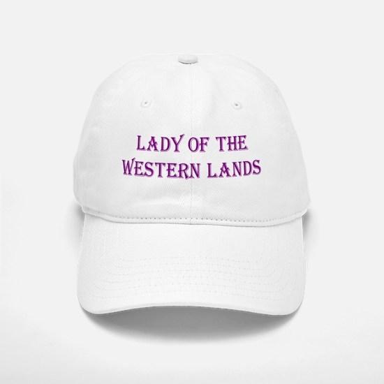 Lady of the Western Lands Baseball Baseball Cap