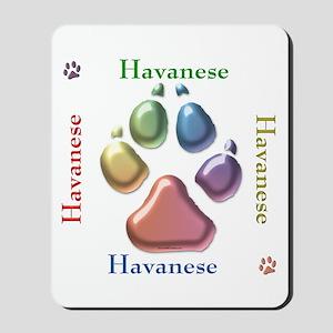 Havanese Name2 Mousepad
