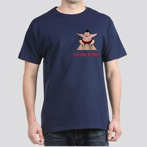 Uh Oh Sumo Dark T-Shirt