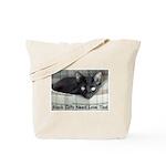 Love Black Cats Tote Bag