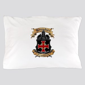 Knights Templar Pillow Case