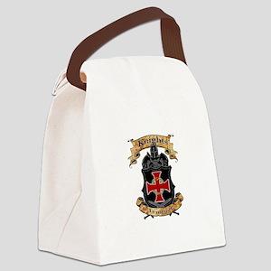 Knights Templar Canvas Lunch Bag