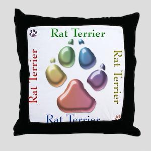 Rat Name2 Throw Pillow