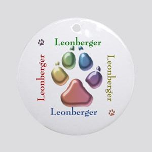Leonberger Name2 Ornament (Round)