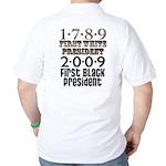 Presidential Firsts: 1789-2009 Golf Shirt