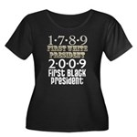 Presidential Firsts Women's Plus Size Scoop Neck D