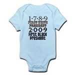 Presidential Firsts: 1789-2009 Infant Bodysuit