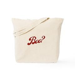 Boo? Tote Bag