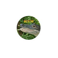 Alligator Mini Button (10 pack)