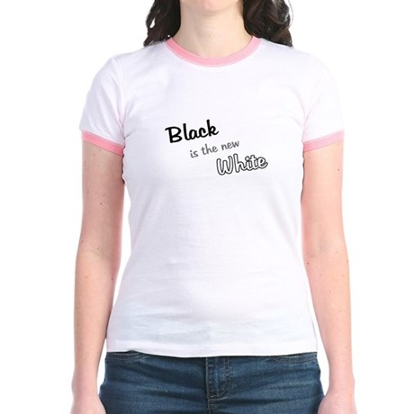 Black is the new white Jr. Ringer T-Shirt