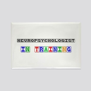Neuropsychologist In Training Rectangle Magnet
