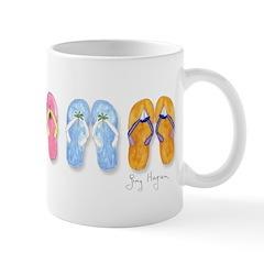 5 Pairs of Flip-Flops Mug