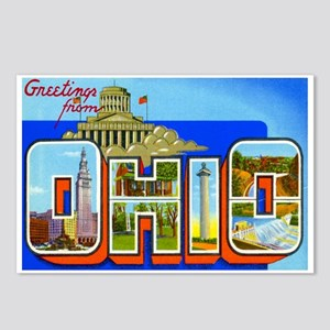 Ohio OH Postcards (Package of 8)