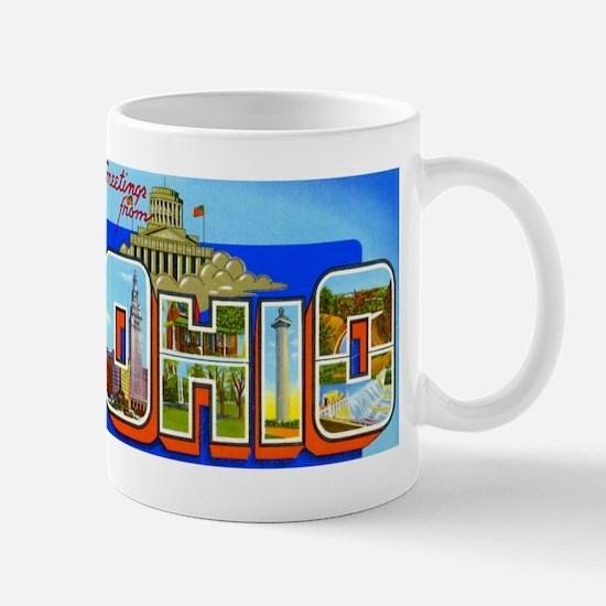 Ohio OH Mug