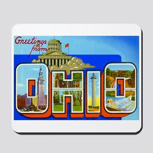 Ohio OH Mousepad