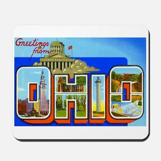 Ohio OH Mousepad