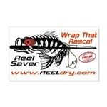 Reel Dry Over The Rod Protection 20x12 Wall Decal