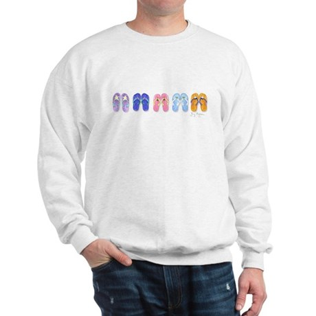 5 Pairs of Flip-Flops Sweatshirt